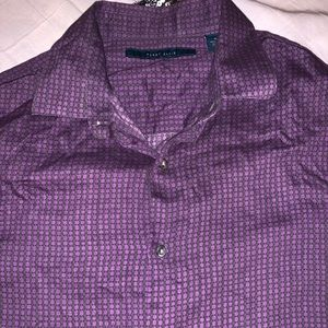 Perry Ellis Long Sleeve Dress Shirt